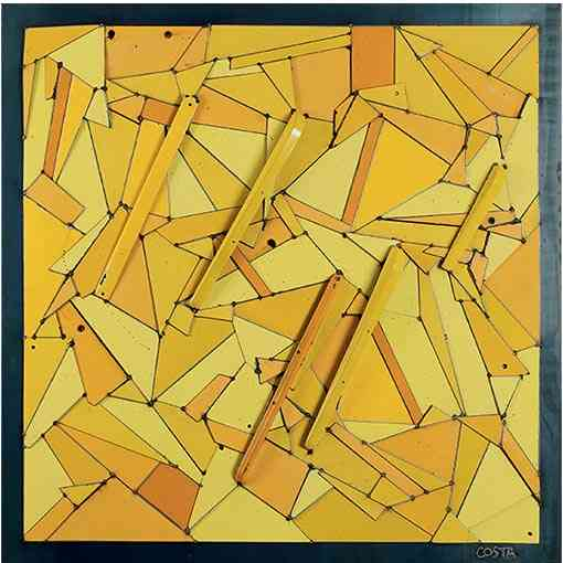 """Abstraction Jaune"""