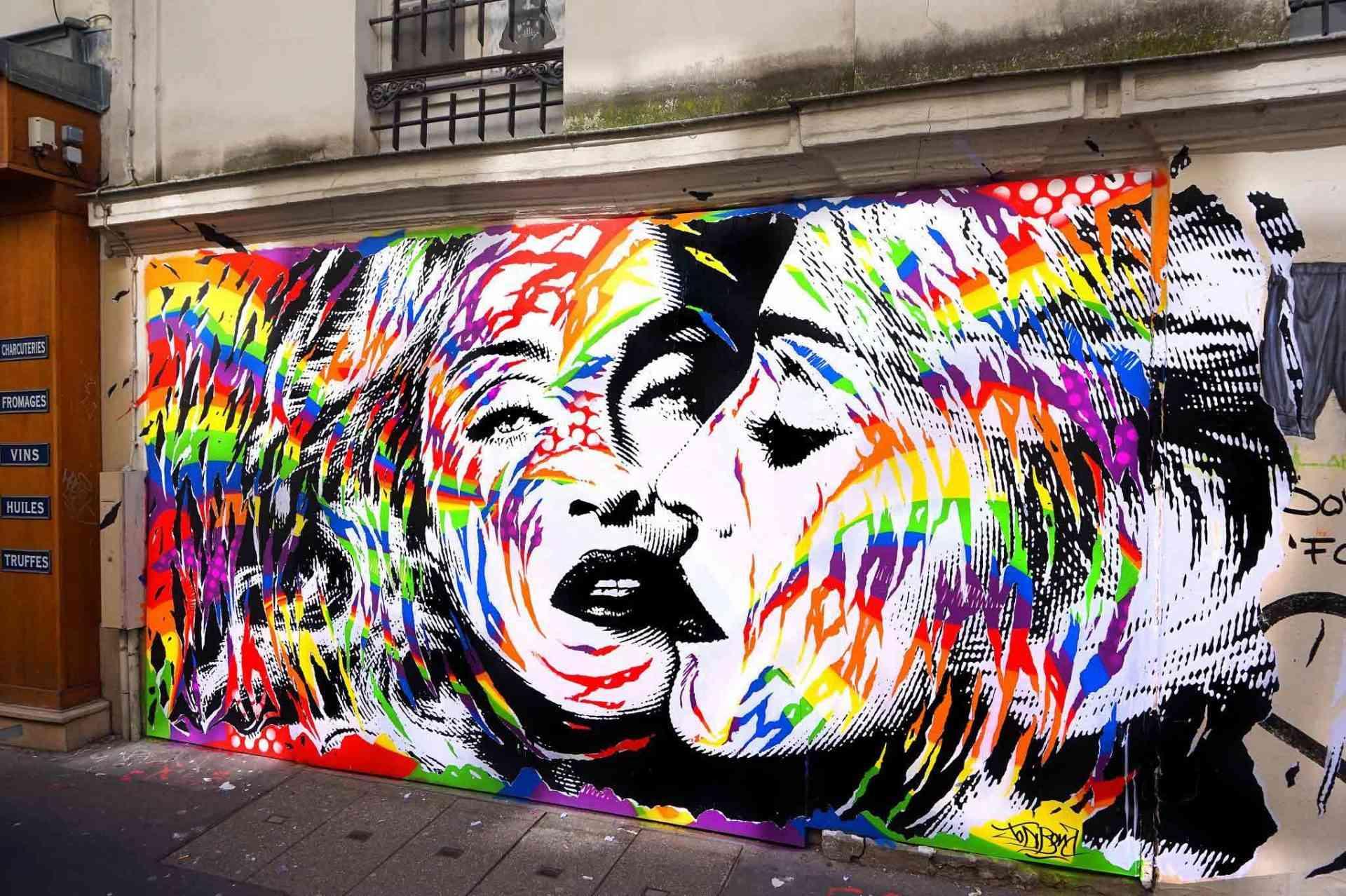"""Jo-Di-Bona-Paris-LGBT-flag-with-Madonna-2018"""