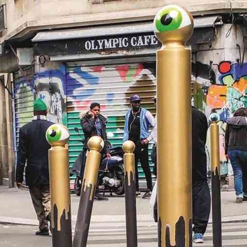 """Le-Cyklop-Paris-2016-Golden-Eyes"""