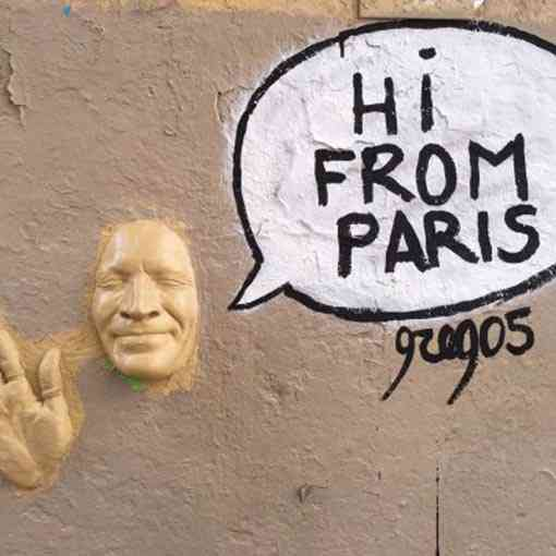 """Hi from Paris"""