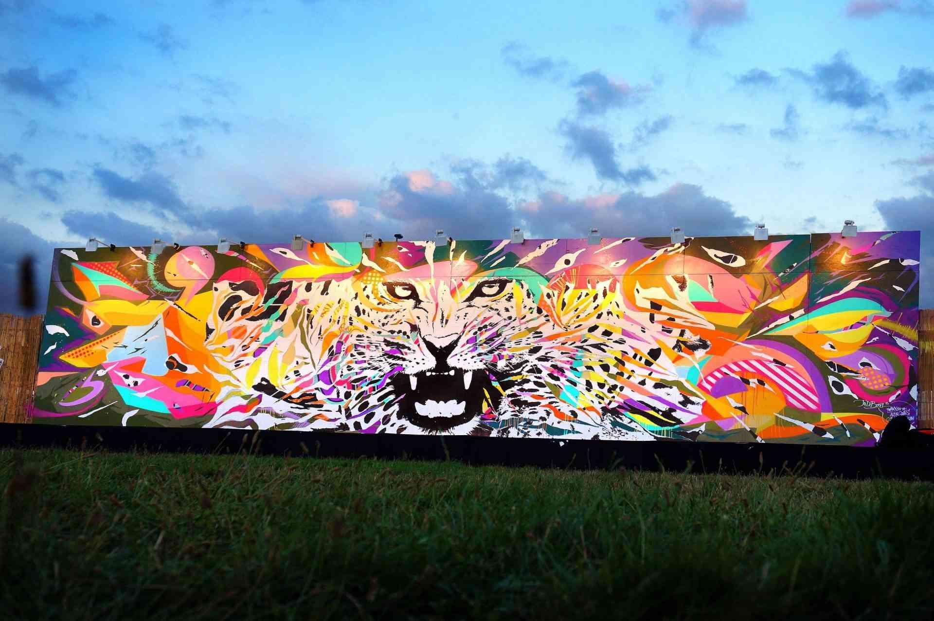 """LE M.U.R ROCK EN SEINE Saint-Cloud 2 by Jo Di Bona 2015"""