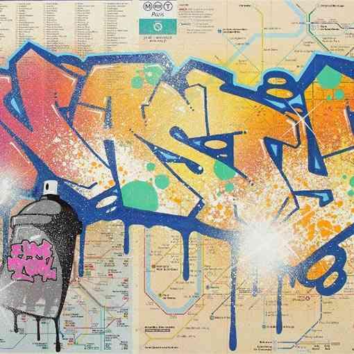 """""""Paris-Plan-de-métro"""""""