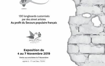 Urban Signature soutient le Secours populaire Ile-de-France en organisant #BoardsToBeSolidaire2 !