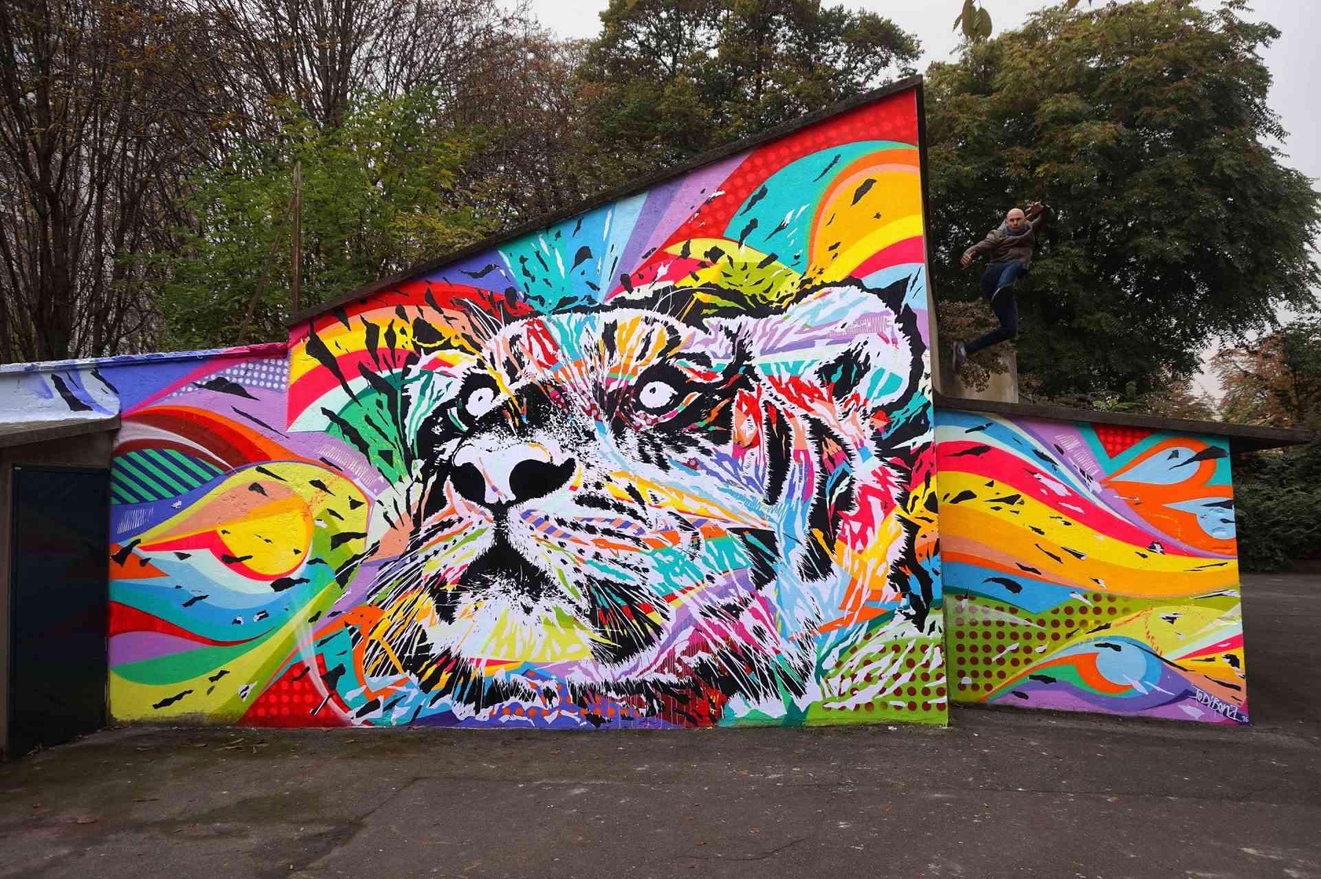 """""""VITRY ART 2 RUE Vitry-sur-Seine by Jo Di Bona 2016"""""""